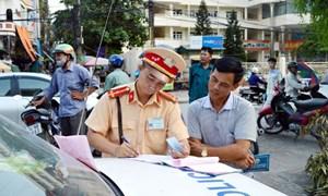 Bắt đầu thí điểm nộp phạt vi phạm giao thông trực tuyến