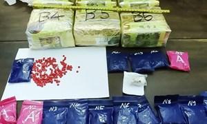 Hải quan Hà Tĩnh phối hợp bắt giữ 6kg ma túy đá và hơn 3.000 viên ma túy tổng hợp