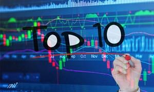 """Top 10 cổ phiếu tăng/giảm mạnh nhất tuần: """"Tân binh"""" gây ấn tượng"""