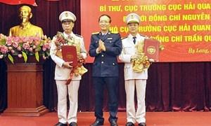 Tổng cục Hải quan bổ nhiệm Cục trưởng Cục Hải quan Quảng Ninh
