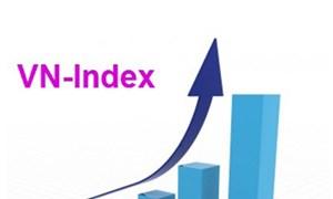 Chỉ số VN-Index tiếp tục đà tăng