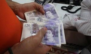 Tỷ giá đồng bảng Anh hôm nay 3/4 tiếp tục tăng