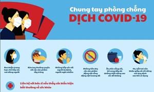 [Infographics] Tình hình dịch bệnh COVID-19 tại Việt Nam tính đến 13/4