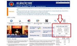 Tổng cục Hải quan phản hồi về việc đăng ký xuất khẩu gạo lúc nửa đêm