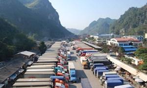 Giảm tải hàng nông sản xuất khẩu tồn đọng tại cửa khẩu