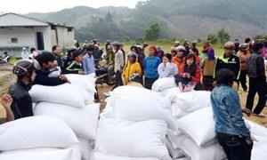 Xuất cấp 879,405 tấn gạo hỗ trợ cho tỉnh Cao Bằng