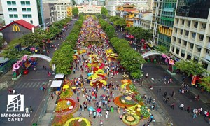 Cấm xe lưu thông hàng loạt tuyến đường trung tâm TP. Hồ Chí Minh