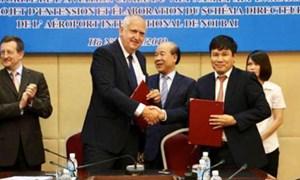 Cục Hàng không ký kết với ADPi (Pháp) nghiên cứu nâng công suất sân bay Nội Bài