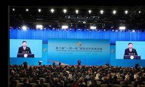 Thủ tướng dự khai mạc Diễn đàn Vành đai và Con đường ở Trung Quốc