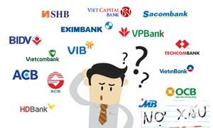 Nợ xấu ngân hàng nhích tăng