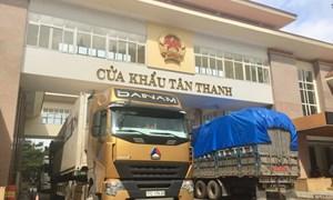 Khôi phục thời gian thông quan tại cửa khẩu Tân Thanh-Pò Chài
