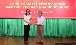 Kho bạc Nhà nước Hà Nội có giám đốc mới