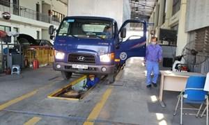 Báo động xe đi đăng kiểm bị trượt kiểm định khí thải
