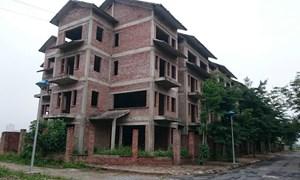 Cẩn trọng nợ xấu bất động sản