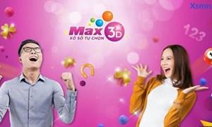 02 vé Max 3D+ trúng kỷ lục 20 tỷ đồng
