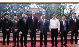 Bộ trưởng Đinh Tiến Dũng tiếp Chủ tịch Liên đoàn Kế toán Đông Nam Á (AFA)
