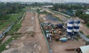 Mặt bằng, thủ tục cản trở dự án giao thông trọng điểm tại TP. Hồ Chí Minh