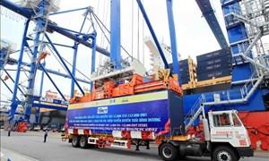 Cảng Hải Phòng nằm trong top 20 cảng biển đón tàu siêu trọng thế giới