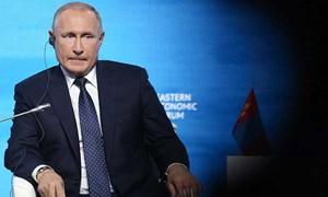 Tổng thống Putin: Kinh tế Nga chưa hoạt động đầy đủ trở lại