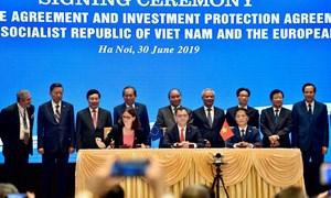 Hiệp định EVFTA và Hiệp định IPA giữa Việt Nam và Liên minh Châu Âu đã được ký kết