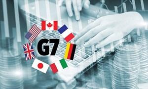 G7 sẽ ưu tiên bàn thảo vấn đề tiền điện tử và thuế doanh nghiệp