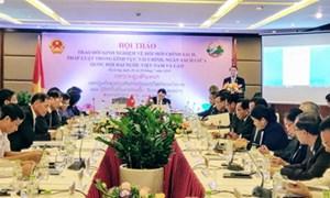Việt Nam - Lào chia sẻ kinh nghiệm về đổi mới chính sách, pháp luật tài chính, ngân sách