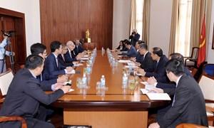 Bộ trưởng Đinh Tiến Dũng tiếp Tổng giám đốc Tổ chức Tài chính quốc tế