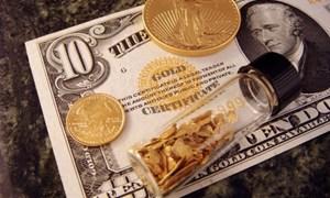 Giá vàng thế giới tăng giữa lúc lợi suất trái phiếu kho bạc Mỹ giảm