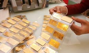 Giá vàng giảm mạnh gần 1 triệu đồng/lượng