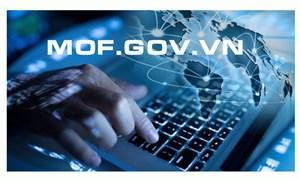 Năm thứ 7 liên tiếp Bộ Tài chính đứng ở vị trí nhất bảng Vietnam ICT Index