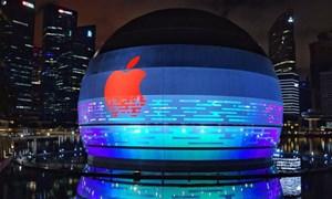 Apple sắp khai trương của hàng nổi trên nước ở Marina Bay Sands
