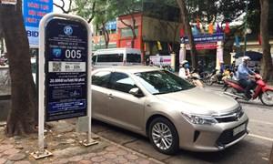 Hà Nội tạm dừng thí điểm mô hình iParking từ ngày 1/9