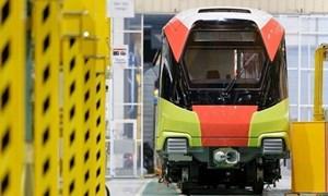 Đoàn tàu đầu tiên metro Nhổn-ga Hà Nội về nước cuối tháng 10
