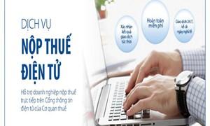 Hỗ trợ tối đa cá nhân nộp thuế qua mạng Internet