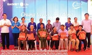Bảo Việt Nhân thọ: Chung tay bảo vệ sức khỏe Việt