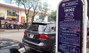 Hà Nội: Tiếp tục thí điểm vận hành ứng dụng dịch vụ Iparking từ tháng 10