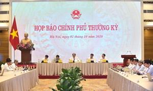 Văn phòng Chính phủ tổ chức họp báo Chính phủ thường kỳ tháng 9/2020