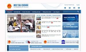 Công khai định kỳ số liệu các bộ, ngành giải ngân chậm trên Cổng TTĐT Bộ Tài chính