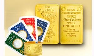 Vàng trong nước và thế giới quay đầu giảm giá