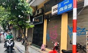 """Mặt bằng đất """"vàng"""" Hà Nội giảm 60% giá thuê vẫn ế khách"""