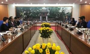 Thứ trưởng Trần Xuân Hà làm việc với Cục Hợp tác Quốc tế, Bộ Ngoại giao Nhật Bản