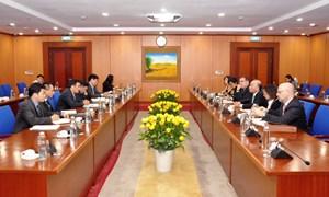 Thứ trưởng Trần Xuân Hà tiếp Phó Tổng Giám đốc Quỹ Tiền tệ quốc tế (IMF)