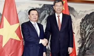 Việt Nam - Trung Quốc hợp tác về lĩnh vực tài chính