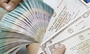 Huy động 5.500 tỷ đồng qua đấu thầu trái phiếu Chính phủ