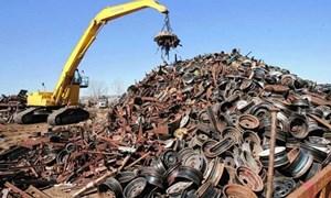 180 triệu USD nhập khẩu phế liệu sắt thép trong tháng 11