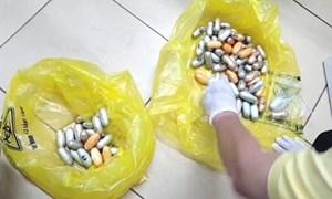 Lực lượng Hải quan phát hiện nhiều vụ vận chuyển ma túy