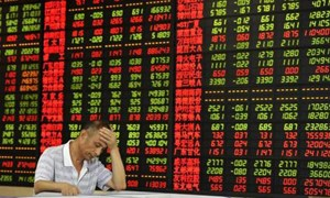 Chứng khoán châu Á giảm mạnh do lo ngại đà tăng trưởng chậm lại của kinh tế thế giới