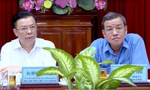 Bộ trưởng Đinh Tiến Dũng làm việc với tỉnh Đồng Nai