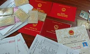 Xưởng sản xuất bằng tốt nghiệp, chứng chỉ giả ở Nghệ An
