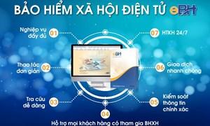 Chuyển biến mới trong giao dịch trực tuyến lĩnh vực bảo hiểm xã hội